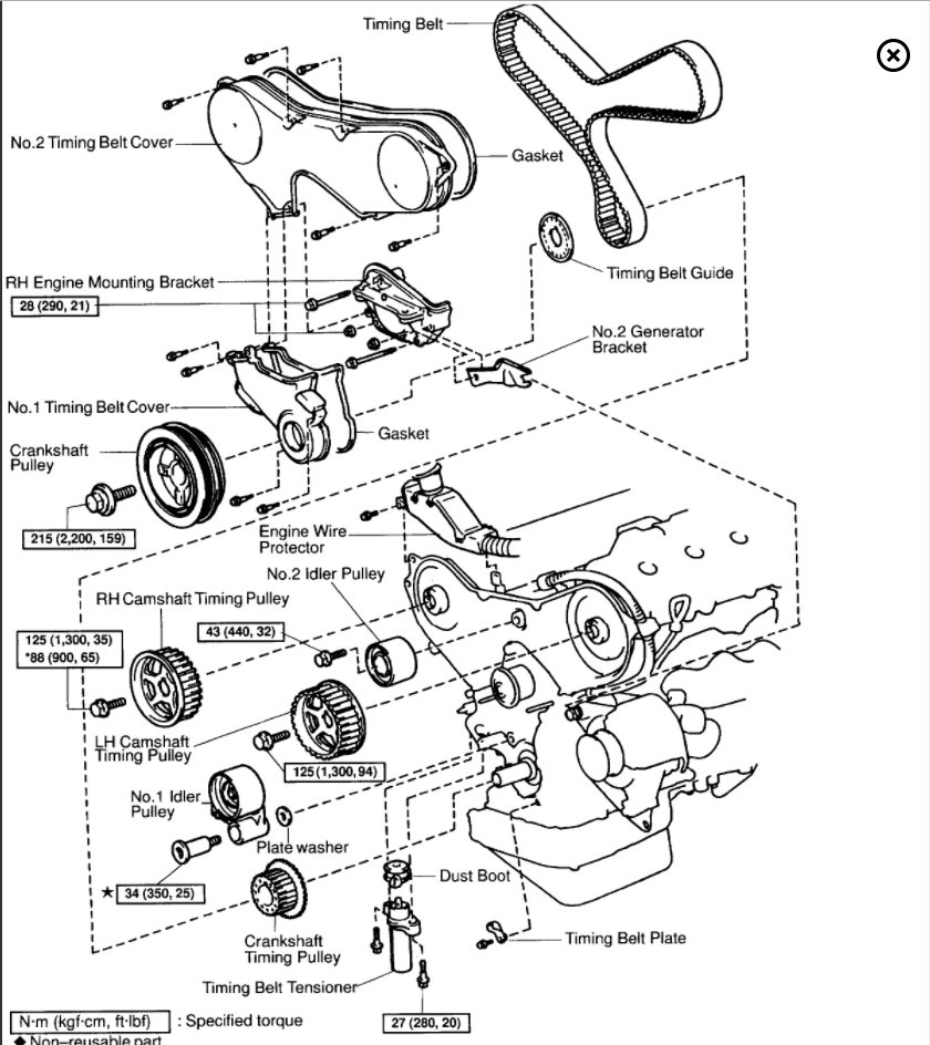 disasembly 2000 lexus gs300 engine diagram  lexus  auto