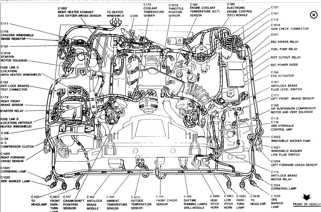 Fuel Pump Relay Location  Smells Problem V8 Two Wheel Drive