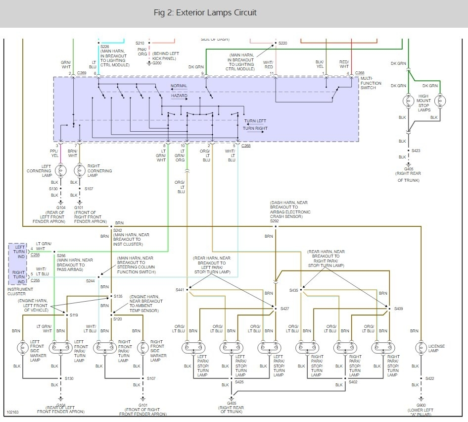 on ac wiring diagram 1996 lincoln town car