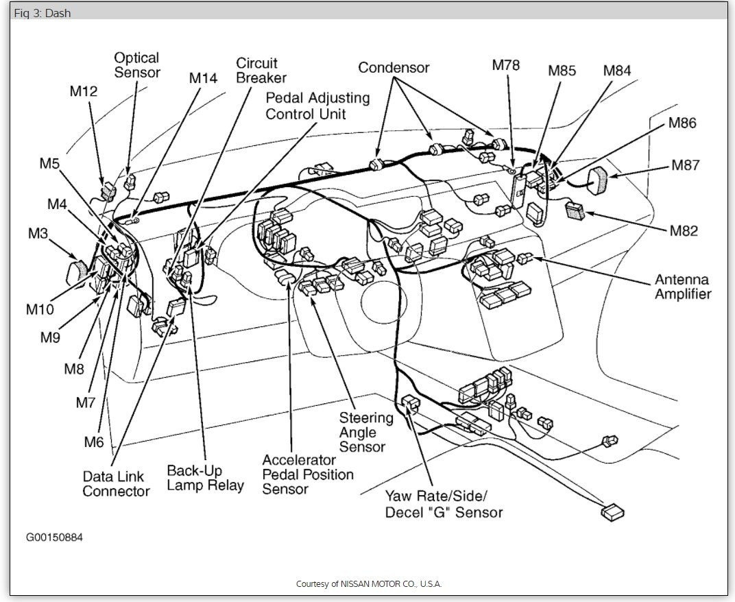 nissan maxima alternator wiring diagram