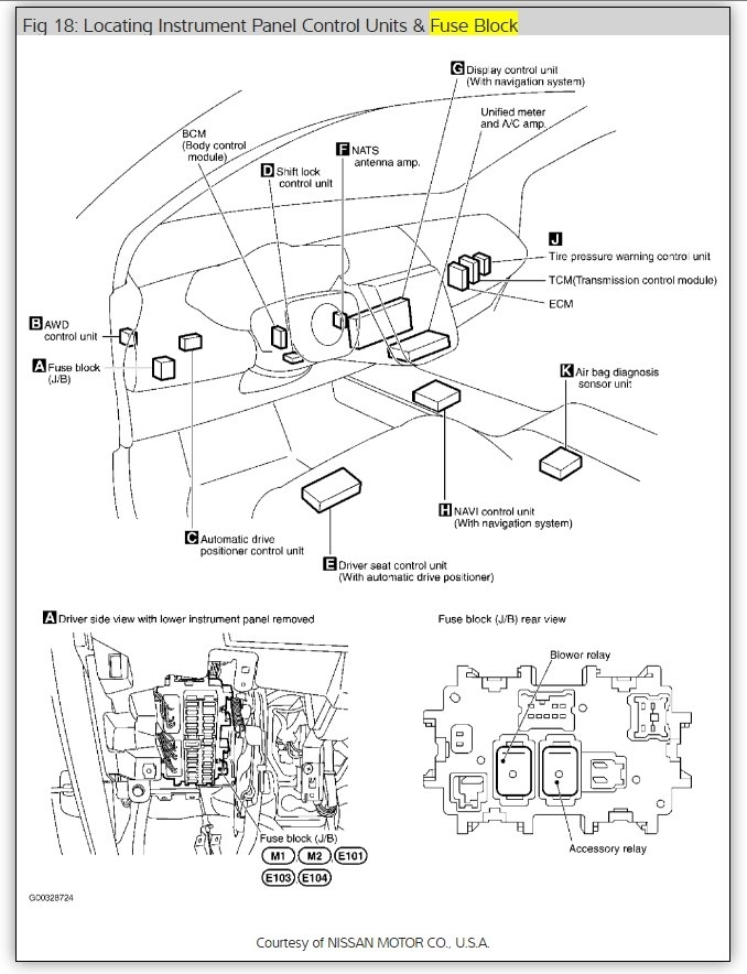 original where is the a c control relay located 2009 nissan murano fuse box diagrams at n-0.co