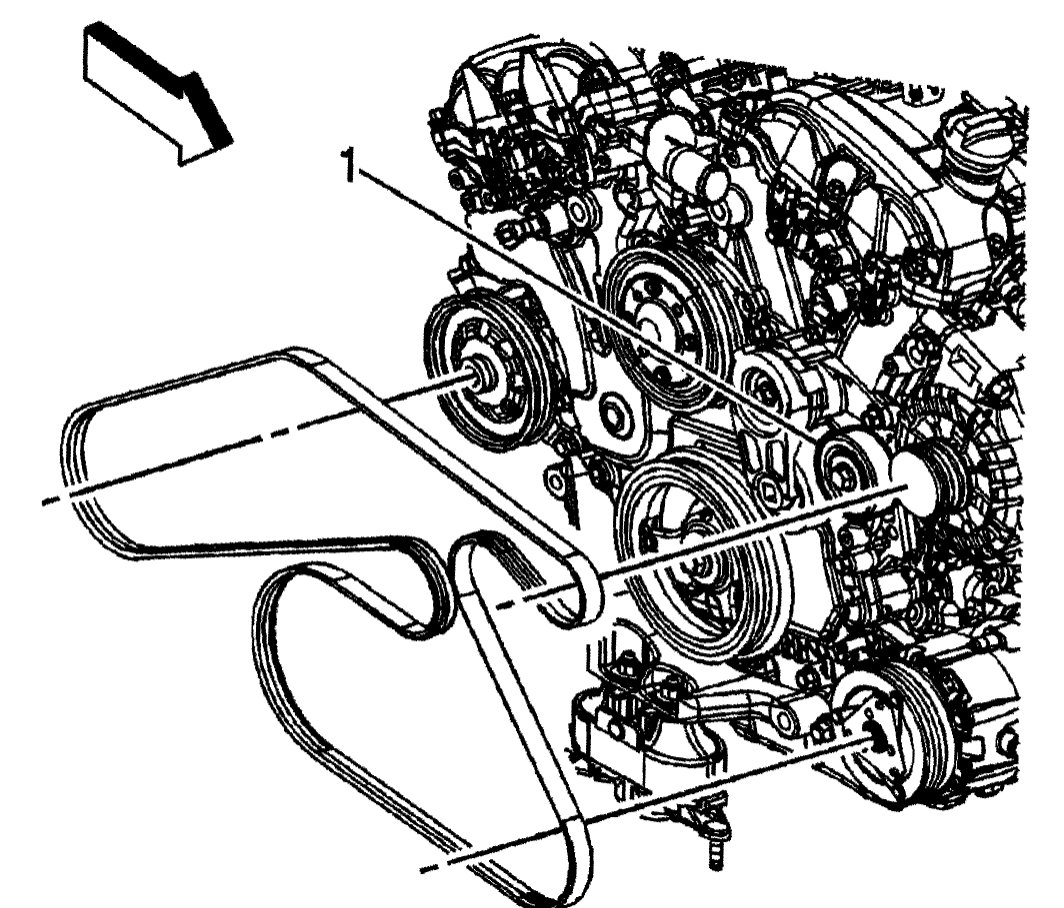 Timing Chain Serpentine Belt Diagrams  Does Anybody Have