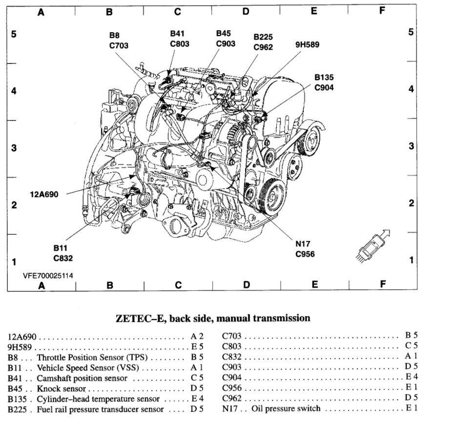 2008 Ford Focus Coolant Diagram Auto Electrical Wiring Diagram \u2022 2003 Ford  Focus Coolant Hose Diagram And Names