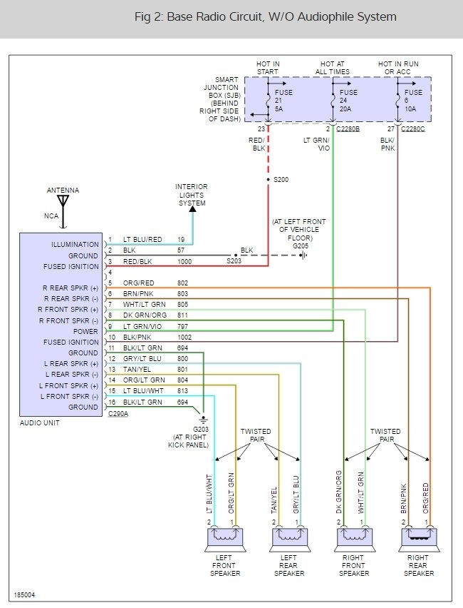 31 Ford Ranger Radio Wiring Diagram