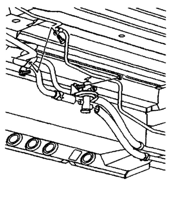 chevy heater controls diagram