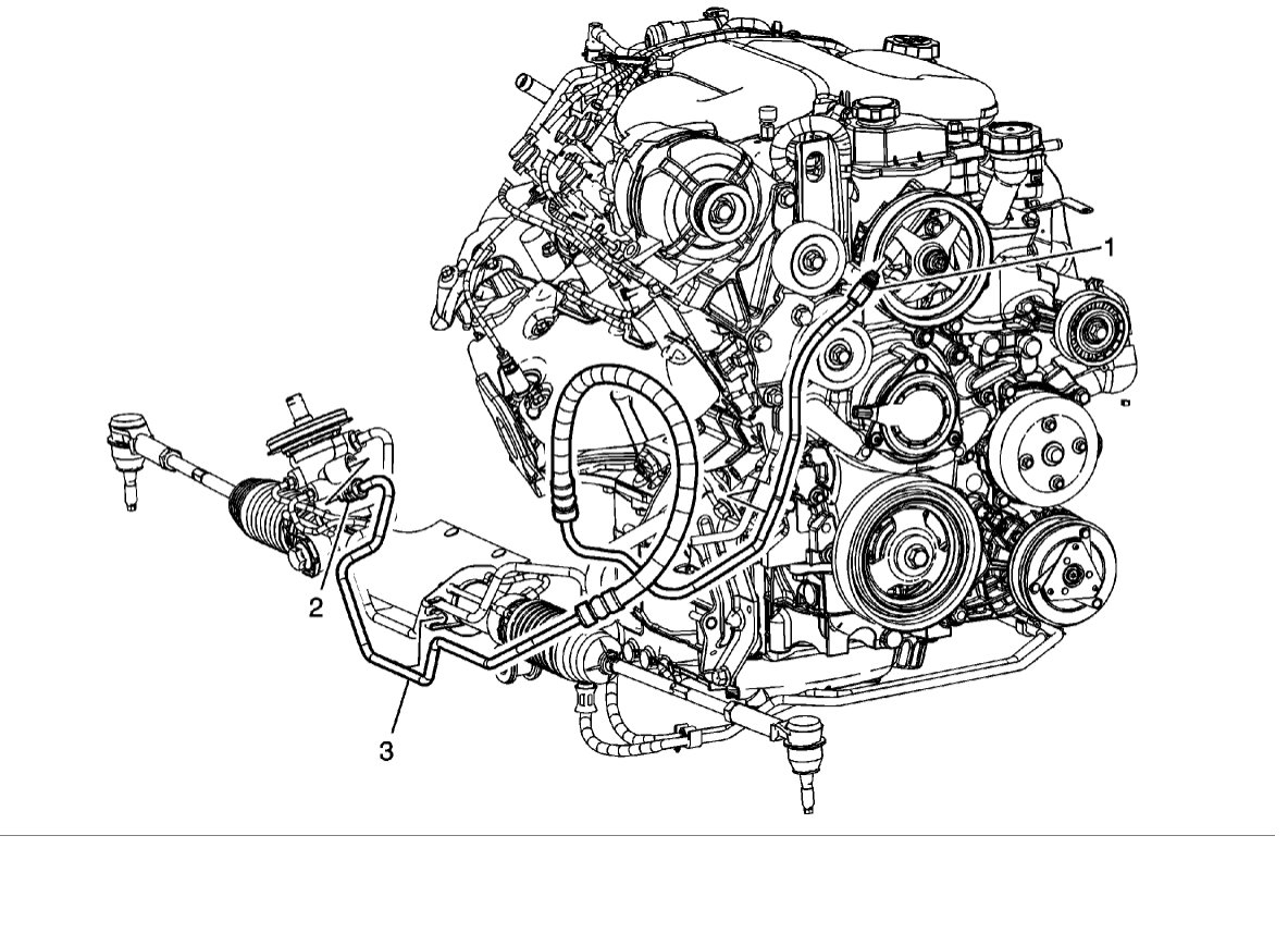 2004 chevy trailblazer power steering diagram