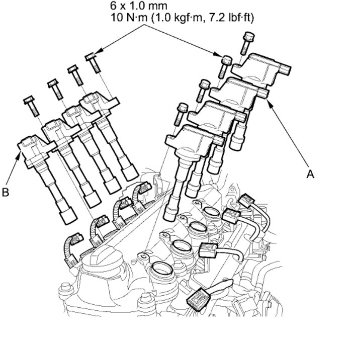 2004 Honda Insight Change Spark Plugs on lincoln mark viii interior