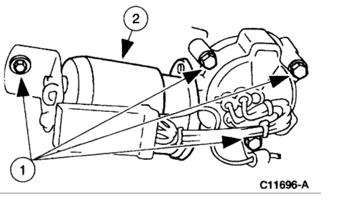 ford v10 parts diagram