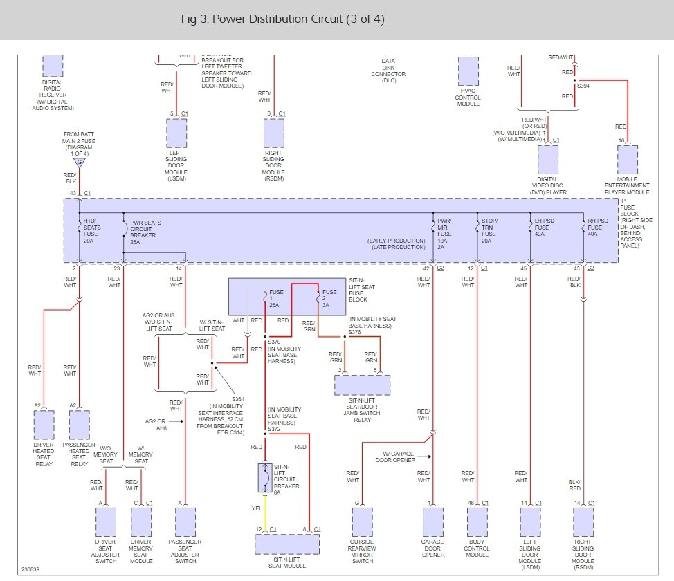 2006 Chevrolet Uplander Wiring Diagram