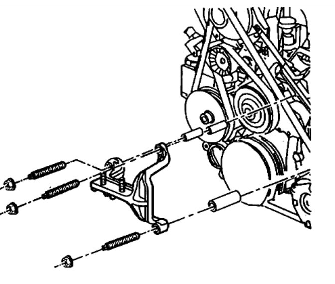 Motor Mount Removal: Six Cylinder Front Wheel Drive Automatic. I ... | 1998 Buick Park Avenue Engine Diagram |  | 2CarPros