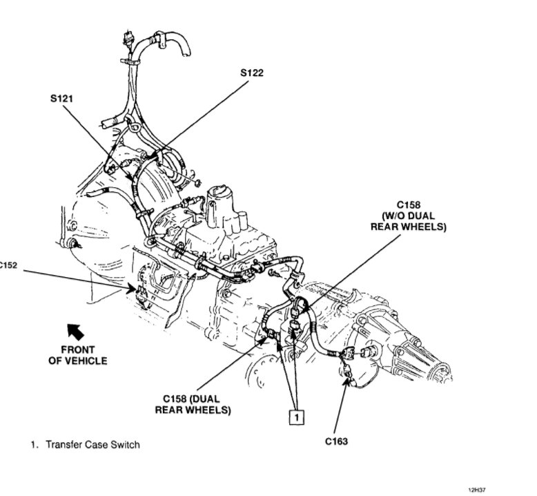 Ford Transfer Case Wiring Diagram