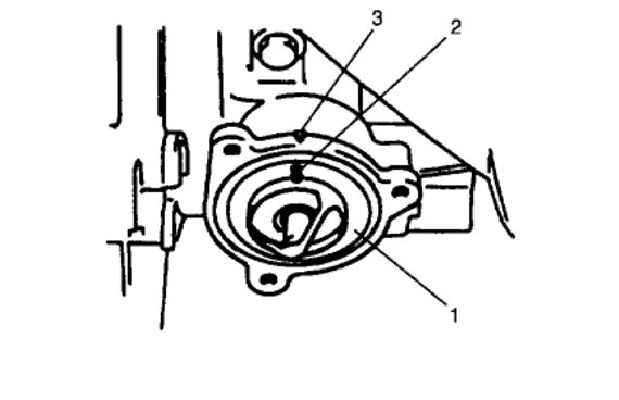 thermostat location   where is the thermostat located on the motor