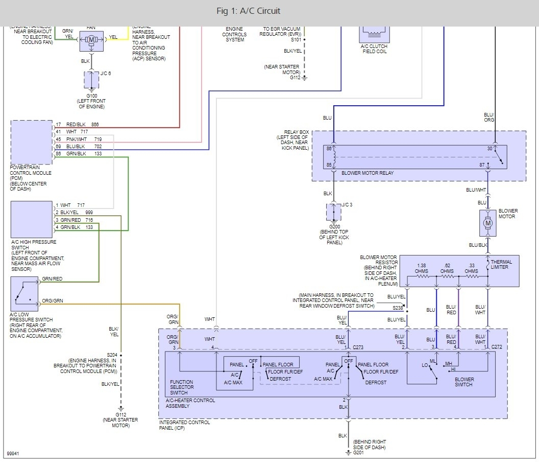 1995 mercury tracer engine diagram 2006 mercury montego