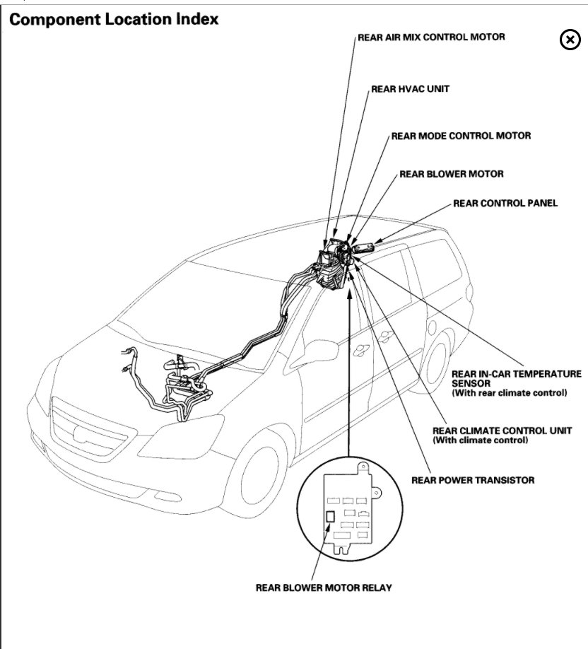 2006 Honda Odyssey Air Conditioning Diagram Images Gallery