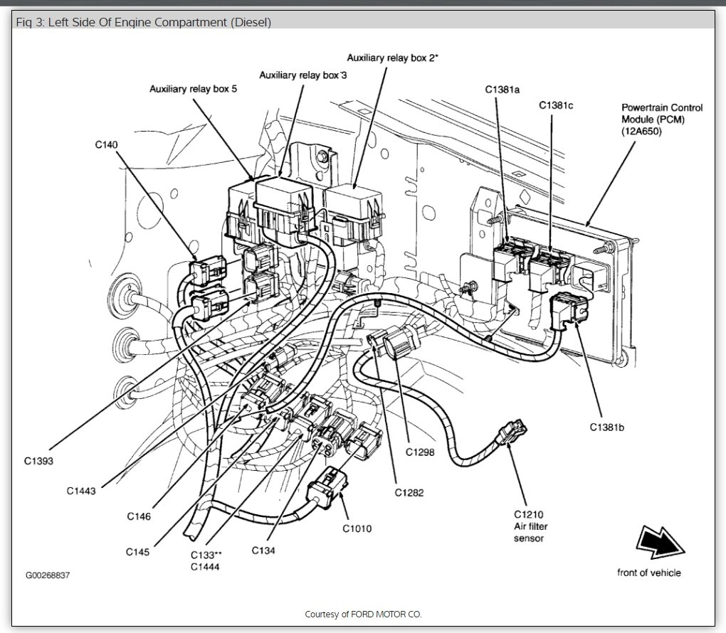 Ford F650 F750 Super Duty Wiring Diagrams 2000 F750 Wiring Diagram