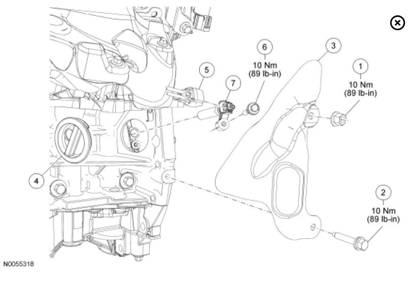 crankshaft sensor location please  need to know where to