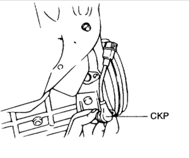 Where Is The Crankshaft Position Sensor Four Cylinder Front Wheel