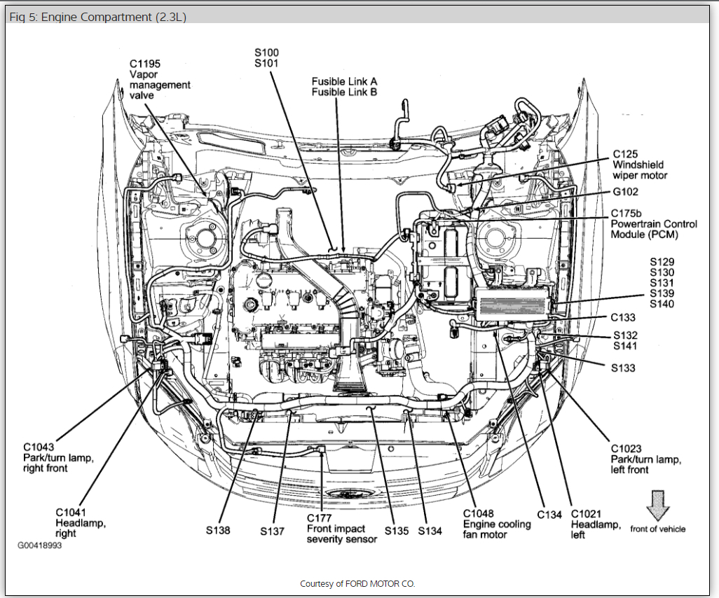 Ford Fusion Engine Diagram