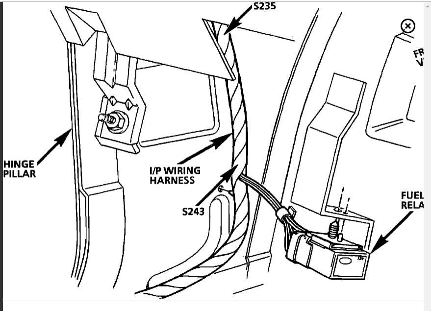 1999 Camaro Fuel Pump Wiring Diagram