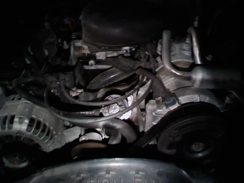 EGR Valve Location  Engine Performance Problem 6 Cyl Four