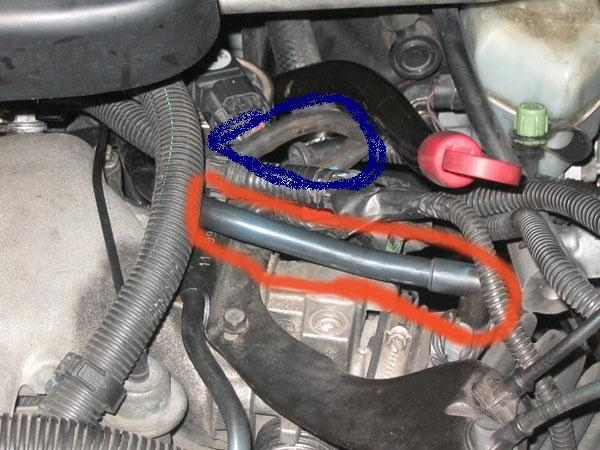 Vacuum Hose Diagram I Have An 04 Chevy Venture With The 3 4 L And