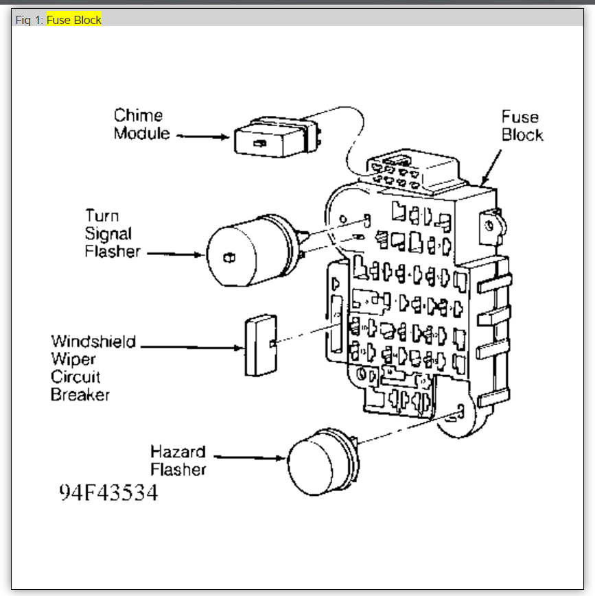 Turn Signal Flasher Electrical Problem 6 Cyl Four Wheel Drive – Jeep Cherokee Turn Signal Wiring Diagram