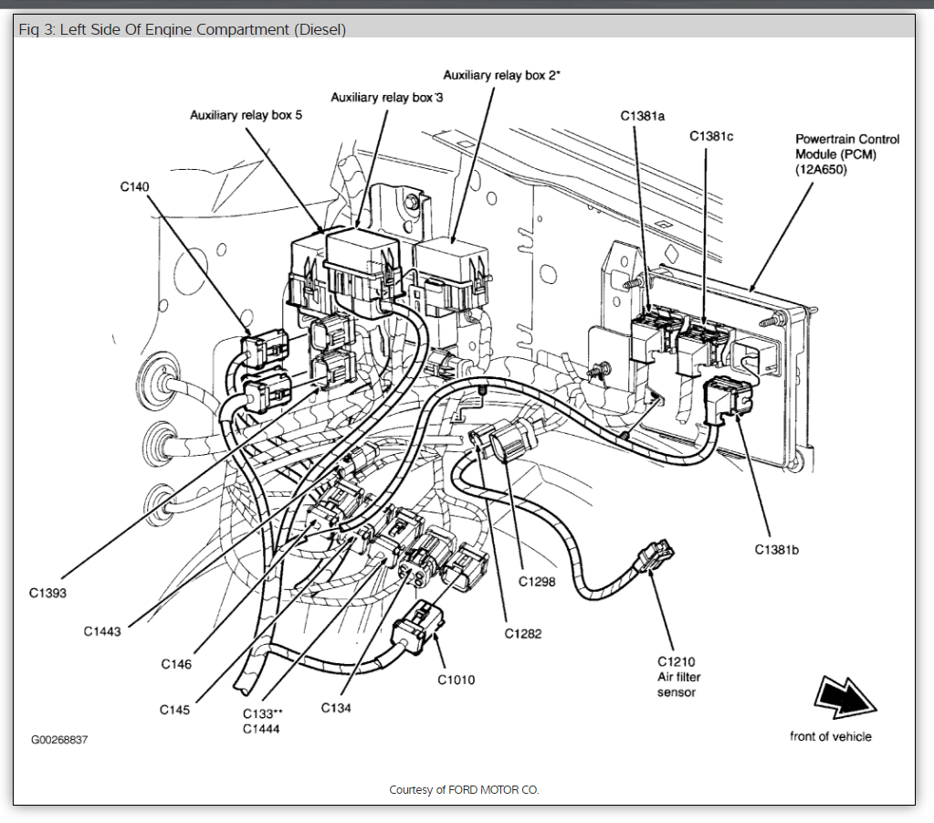 Original on 2000 Ford F 250 Fuel Pump Wiring Diagram