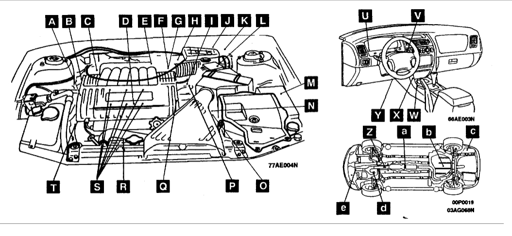 2003 Mitsubishi Diamante Engine Diagram  Mitsubishi