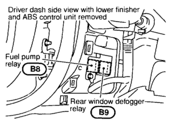 infiniti i35 relay diagram