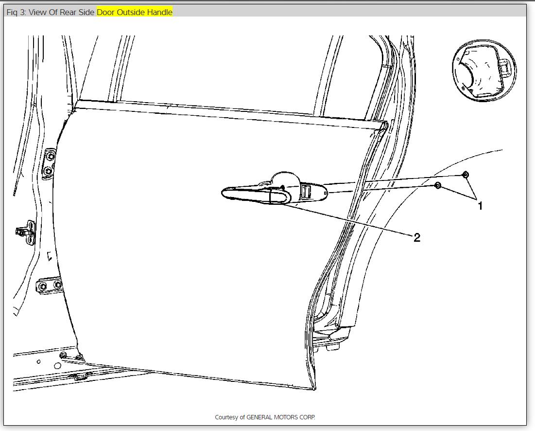 door handles  how do you replace the driver u0026 39 s side outside door