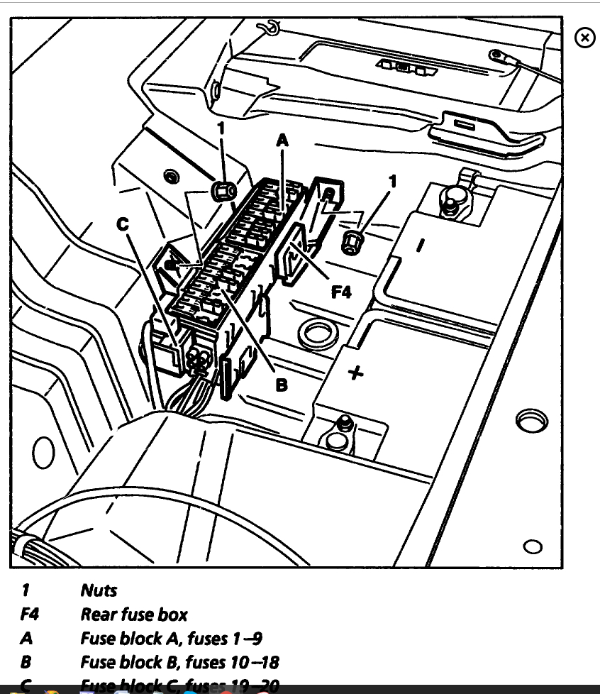 1999 mercedes e320 rear fuses diagram