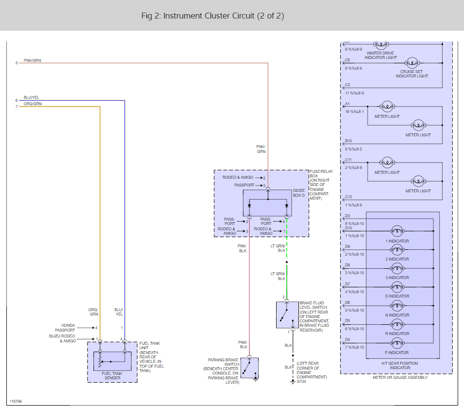 Isuzu Rodeo Fuel Pump Wiring Diagram from www.2carpros.com