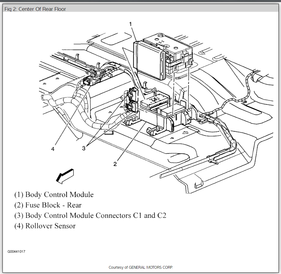 Original on Chevy Fuse Panel Diagrams