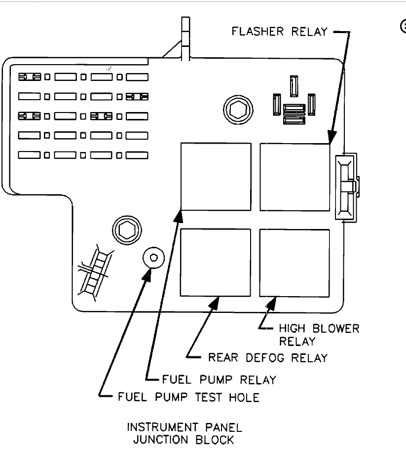 where would the fuel pump relay be located and is there anyway you rh 2carpros com saturn ion fuel system diagram saturn fuel pump wiring diagram