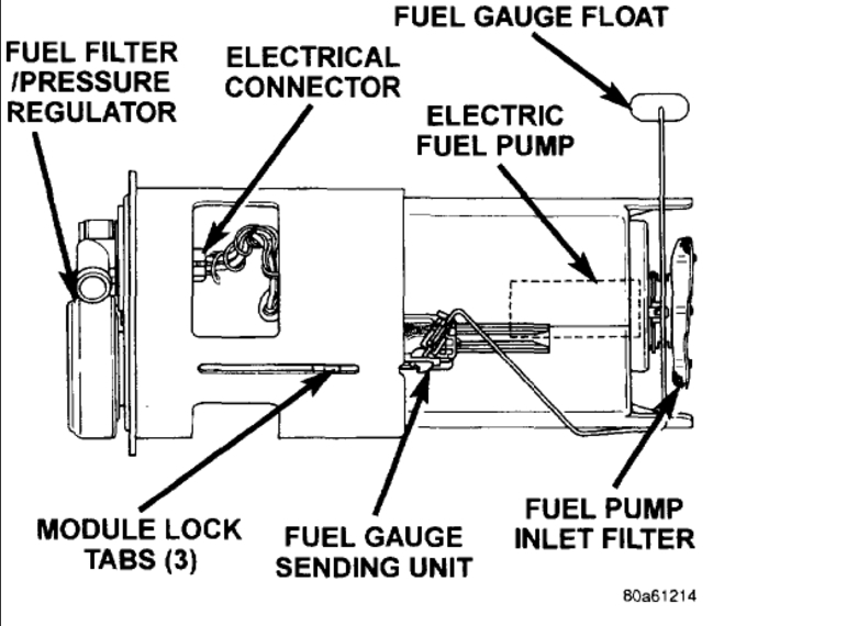 fuel filter diagram