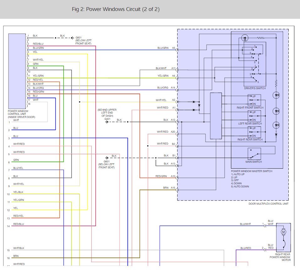 Window Doesnt Work Is It The Switch Or Module Honda Pilot 06 Wiring Diagram Thumb