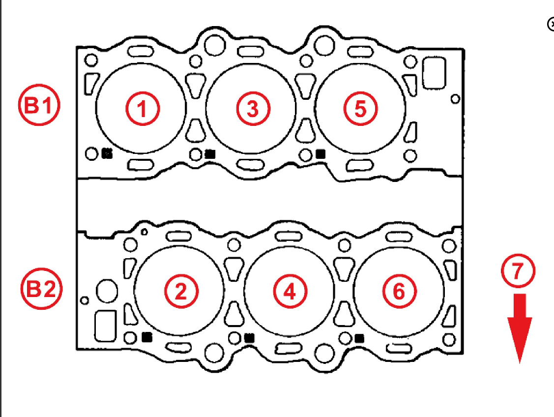 I Need The Firing Order Diagram For Where Toyota 3vze Engine Ignitor Thumb