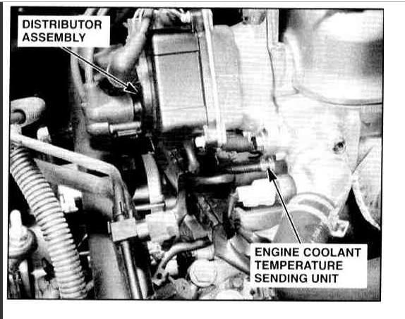 distributor firing order four cylinder front wheel drive96 Honda Accord Engine Diagram Http Www2carproscom Questions 96 #20