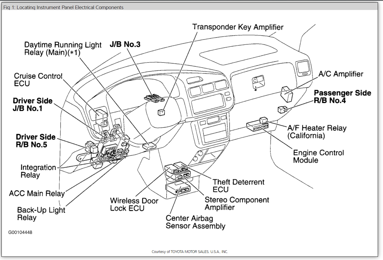 toyota townace electrical wiring diagram