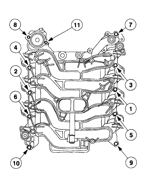 Intake Manifold Torque Specs Hi I Am Replacing My Intake