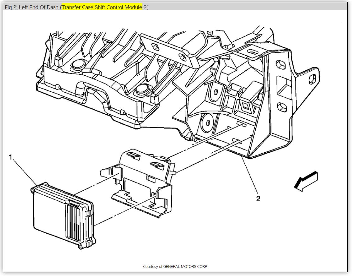 Repairing A Tranfer Case Control Module  Four Wheel Drive Service