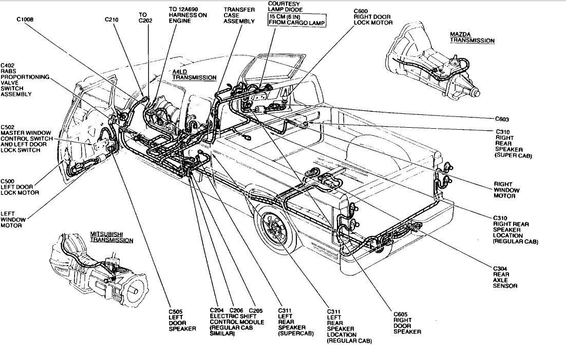 ford ranger 1992 rabs circuit diagram anti lock brake light im sure you get these questions all day  anti lock brake light im sure you get