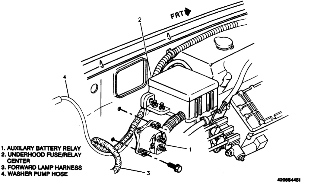 1993 chevy 1500 fuse box diagram