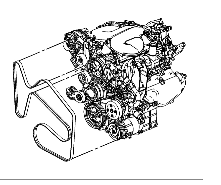 serpentine belt diagram please i have the ss model with a 5 3 2006 Chrysler Pacifica Belt Diagram thumb