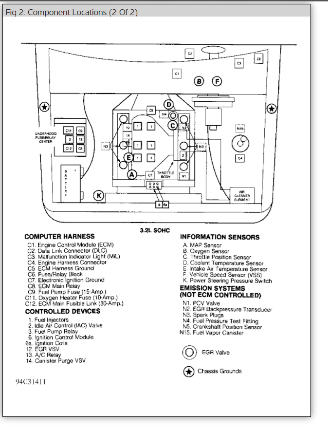 compueter pin wiring diagram 2000 isuzu rodeo  isuzu  auto