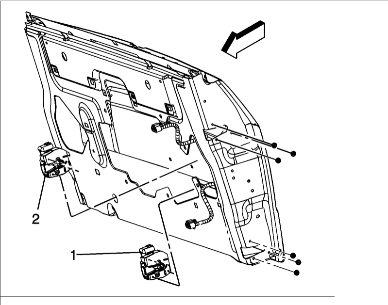 tailgate will not open  other category problem 6 cyl four wheel