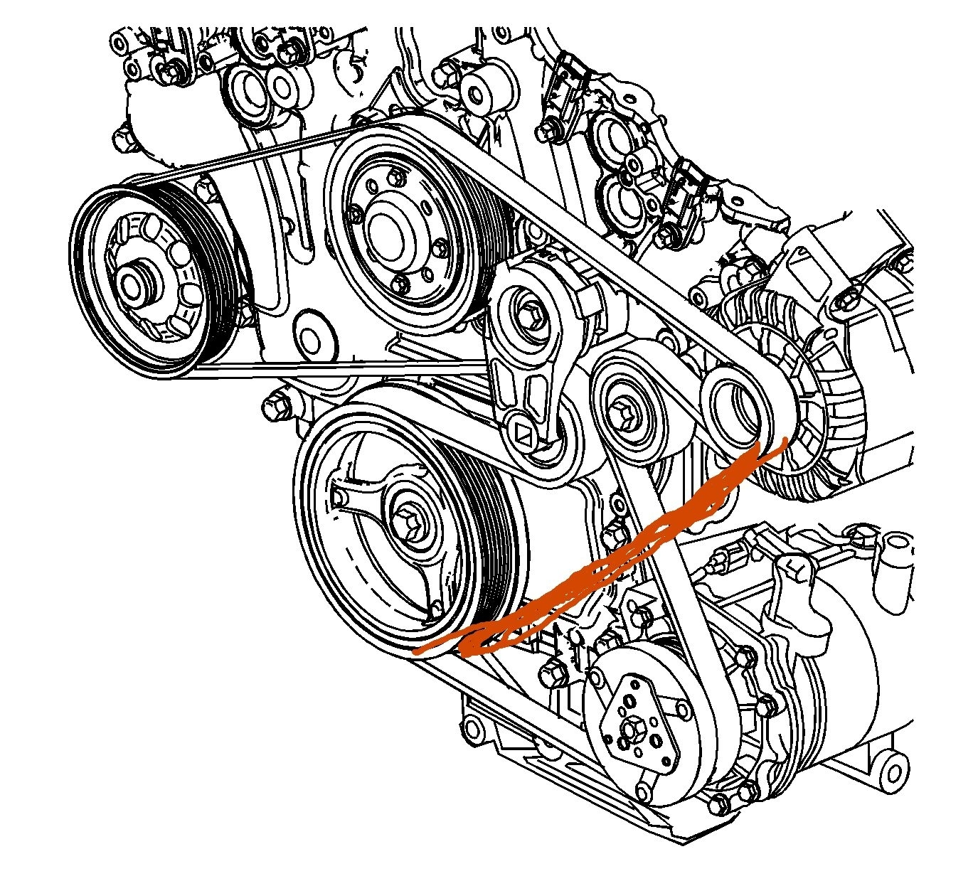serpentine belt to bypass a c i would like to know if there is a serpentine belt to bypass a c i would