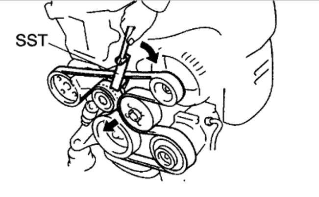 How To Replace Serpentine Belt On 2002 Camry Manual Guide