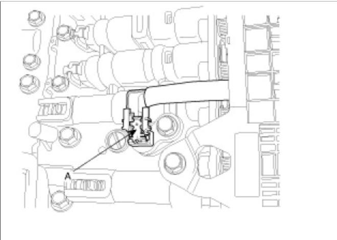 transmission fluid sensor  i need location of fluid sensor
