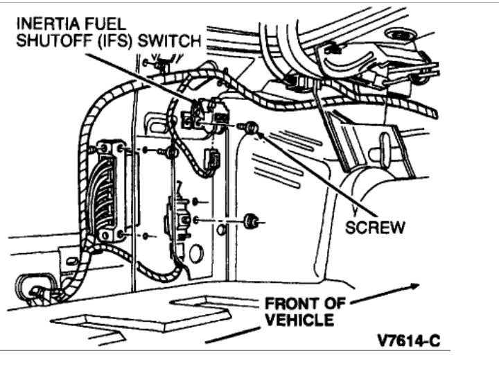 Fuel Pump Relay Location L Based Powertrains Crownvic Net
